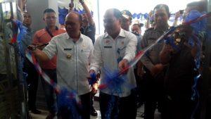 Ka. Kanwil Kemenkum HAM Sumut didampingi Pj. Walikota Tebing Tinggi Meresmikan Kantor ULP Tebing Tinggi